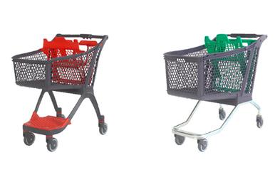 Carros y canastas para supermercados