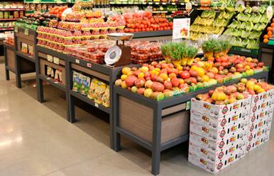 Muebles para frutas y verduras